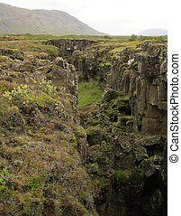 Iceland's fault line