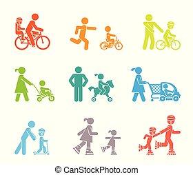 ich, dzieciaki, rodzice, move.