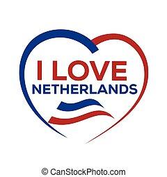 ich, liebe, niederlande