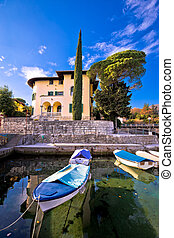 Icici village waterfront in Opatija riviera
