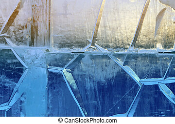 icicles from ice