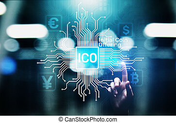 ICO - Initial coin offering, Fintech, Financial and ...