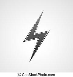 icon., éclair