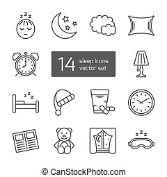 icon., αμυντική γραμμή , κοιμάμαι , λεπτός