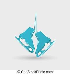icon., シンボル。, フィギュアスケートする