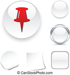 icon., デッサンピン