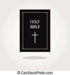icon., ベクトル, 神聖, イラスト, 聖書