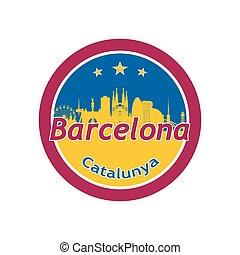 icon., ラウンド, バルセロナ