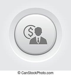 icon., 概念, 値, ビジネス
