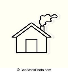 大気汚染イラストとストックアート7974 大気汚染イラストとベクター