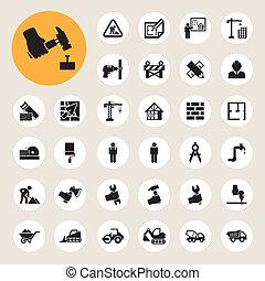 icon 08 - Business and finance icon set.Illustration eps10