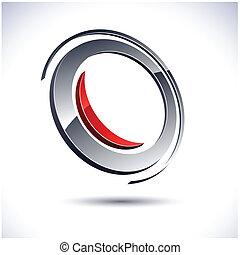 icon., 3d, 抽象的