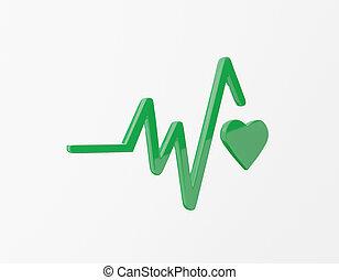 icon., 3d, mete, benessere, sviluppo, buona salute, ...