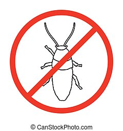 icon., achtergrond, vrijstaand, hornet, schets, hornet., pictogram, vector, witte