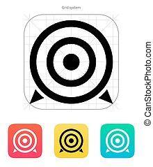 icon., alvo
