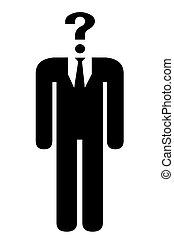 icon., anonyme, humain