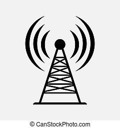 icon antenna, communication