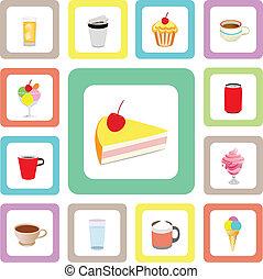 icon bakery set
