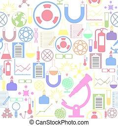 icon., bakgrund, labb, mönster, seamless