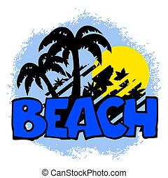 Icon beach
