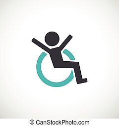 icon., behinderten