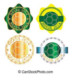 icon brasil 2014 group 4 - Sign, symbol, stamp or icon...