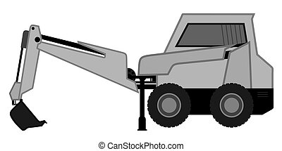 Icon bulldozer