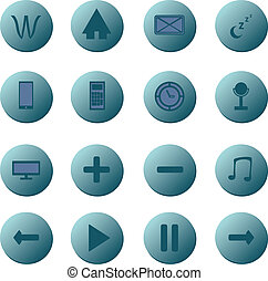 Icon Button Collection.