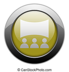 Icon, Button, Pictogram Cinema - Icon, Button, Pictogram ...