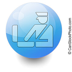 Icon, Button, Pictogram Customs - Icon, Button, Pictogram...