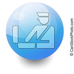 Icon, Button, Pictogram Customs - Icon, Button, Pictogram...