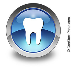 Icon, Button, Pictogram -Dentist, Dentistry-