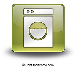 Icon, Button, Pictogram Laundromat - Icon, Button, Pictogram...