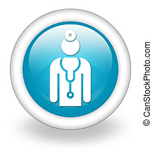 Icon, Button, Pictogram Physician - Icon, Button, Pictogram...