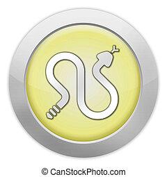 Icon, Button, Pictogram Rattlesnakes