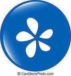 Icon button series - Leaf