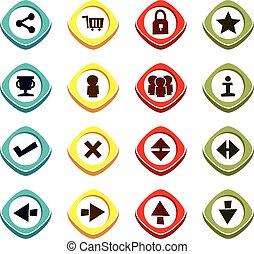 icon button set