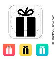 icon., cadeau