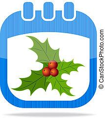 icon calendar Christmas 2