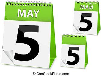 icon calendar for Easter
