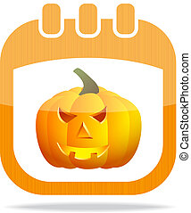 icon calendar Halloween