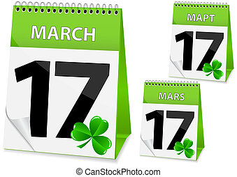 icon calendar March 17