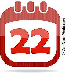 icon calendar Thanksgiving Day