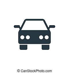 icon car - car sign icon