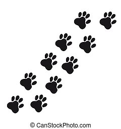 Icon cat traces of black on a white background.