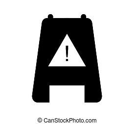icon caution wet floor