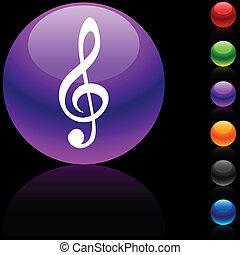 icon., clef