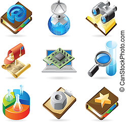 Icon concepts for technology - Vector concept icons for web,...