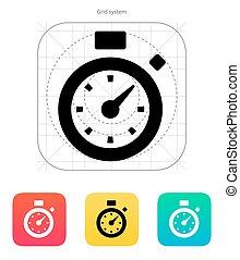 icon., cronometro