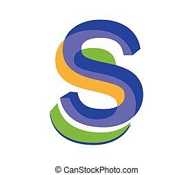 Icon Design for S Letter
